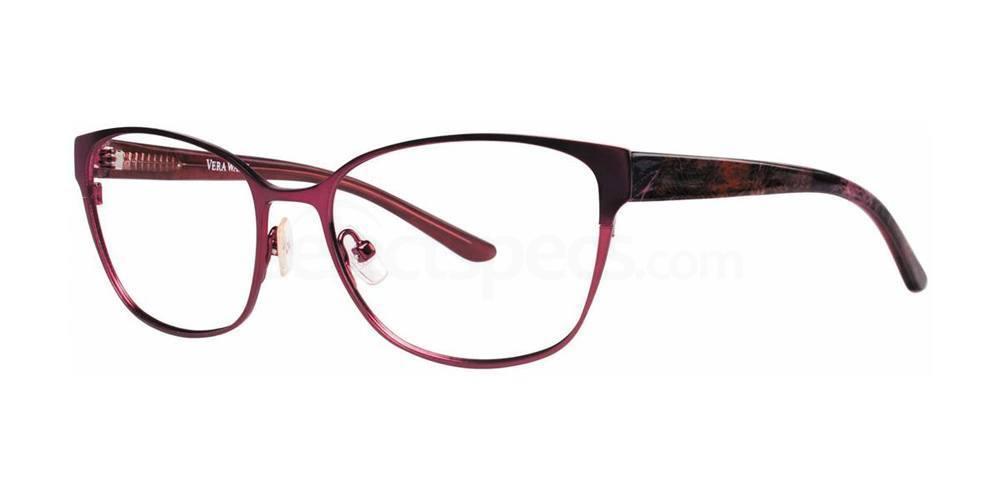 Burgundy V305 Glasses, Vera Wang