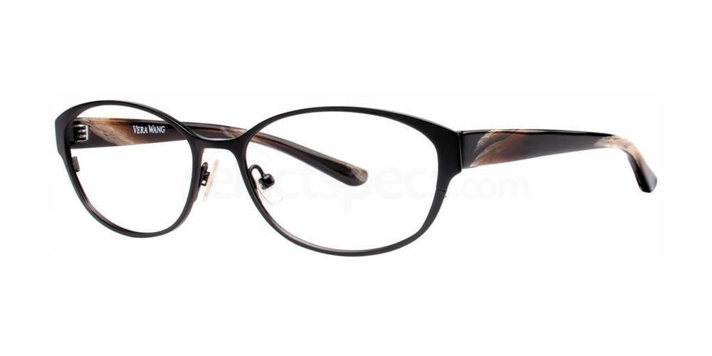 Black V306 Glasses, Vera Wang