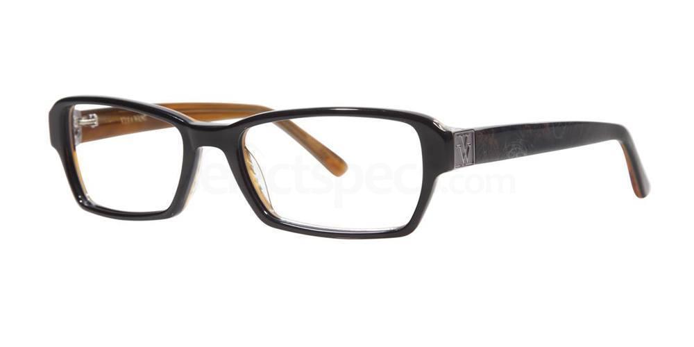 Black V311 Glasses, Vera Wang