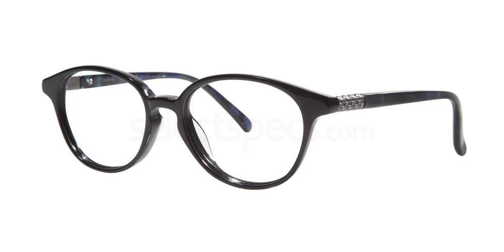 Black V315 Glasses, Vera Wang