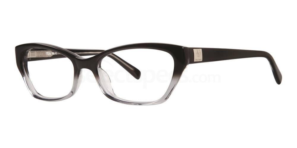 Black V323 Glasses, Vera Wang