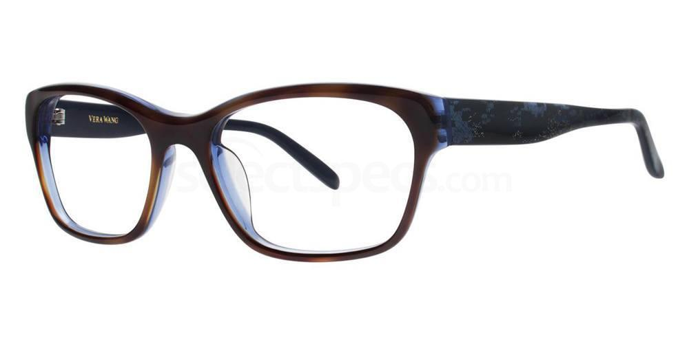 Midnight Tortoise V324 Glasses, Vera Wang