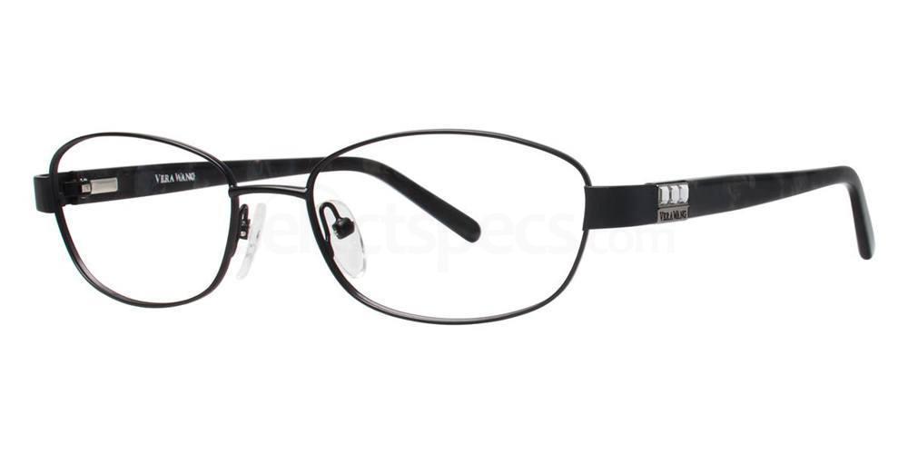 Black V330 Glasses, Vera Wang