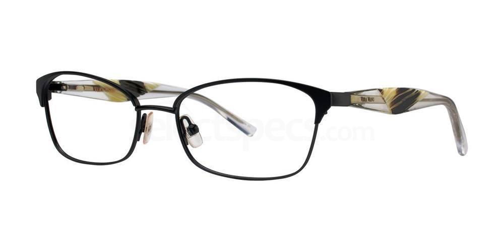 Black V349 Glasses, Vera Wang