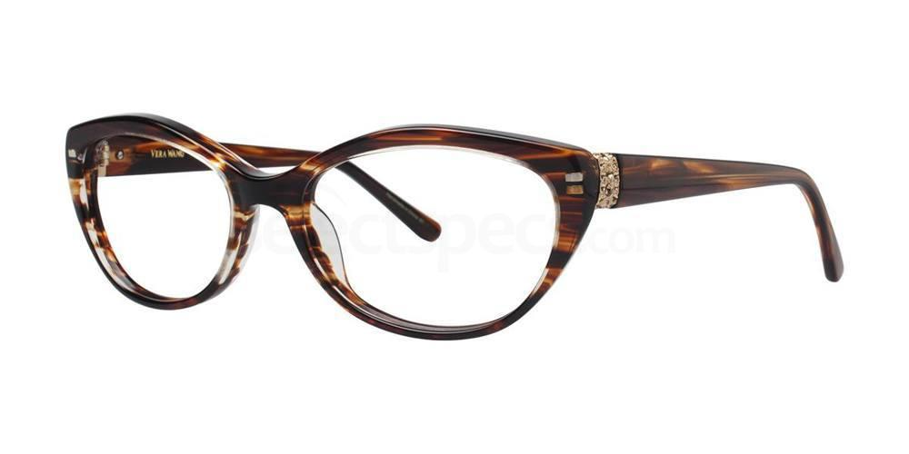 Brown V351 Glasses, Vera Wang
