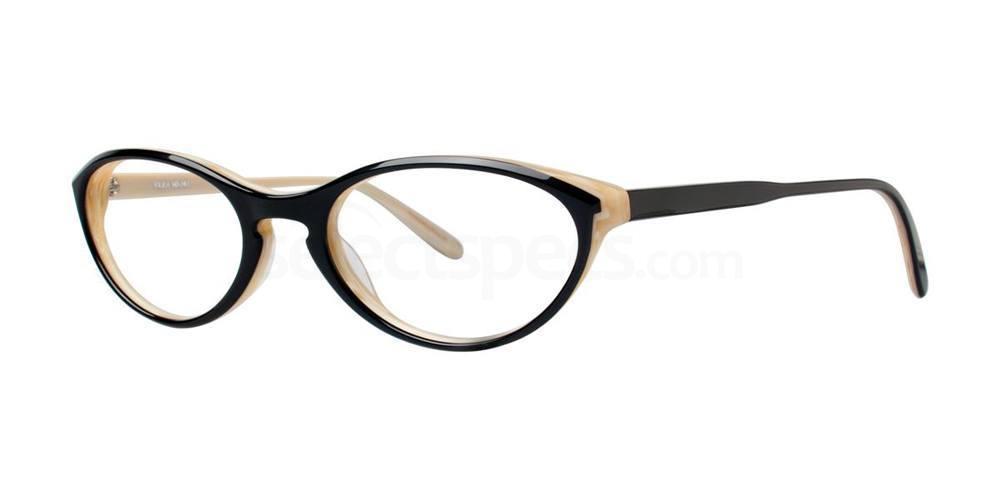 Black V356 Glasses, Vera Wang