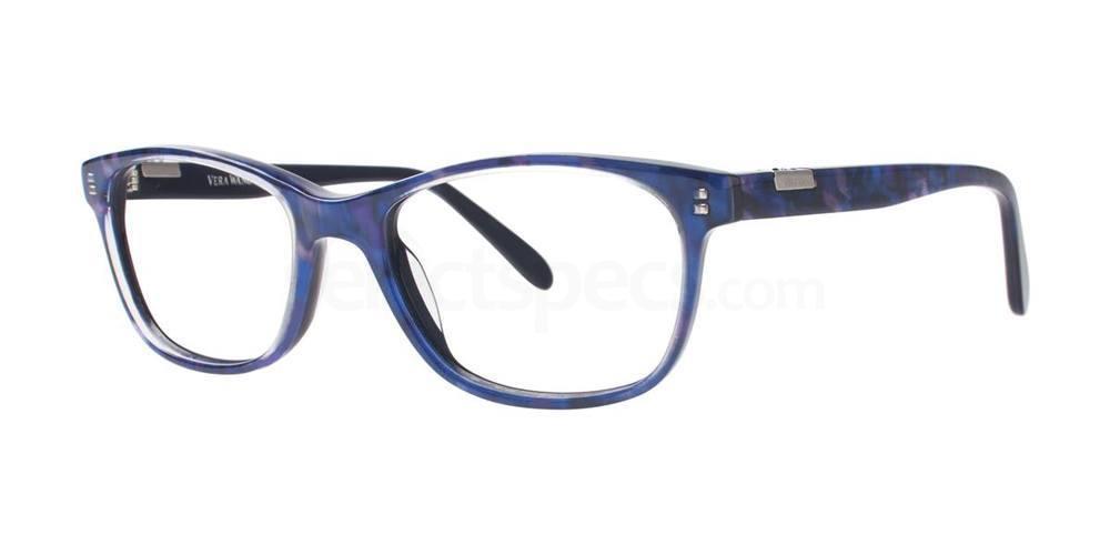 Azure Horn V357 Glasses, Vera Wang