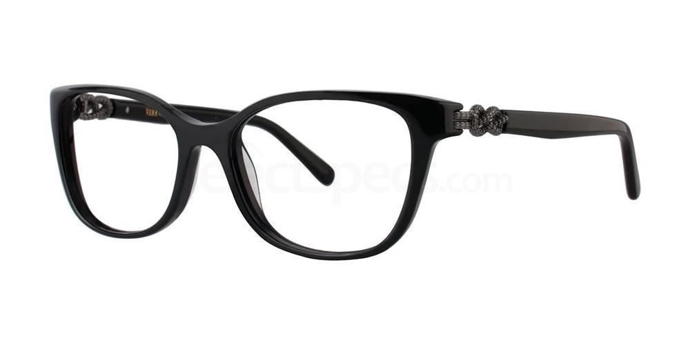 Black V359 Glasses, Vera Wang