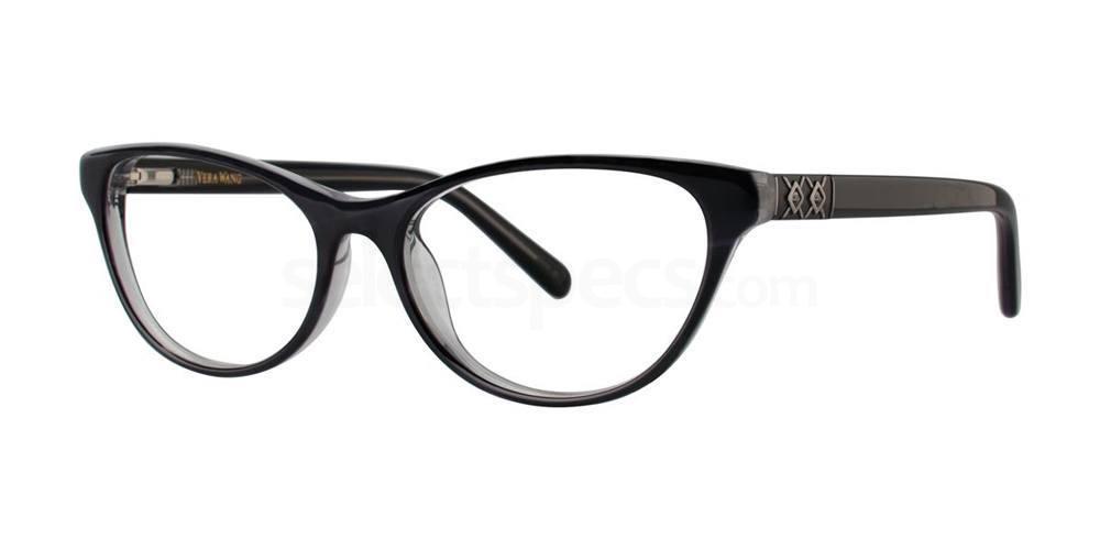 Black V360 Glasses, Vera Wang