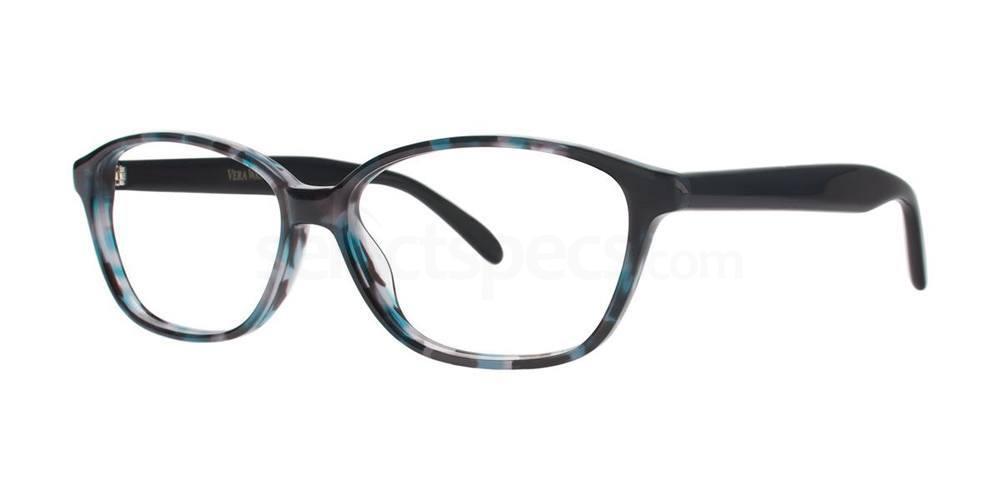 Midnight Tortoise V363 Glasses, Vera Wang