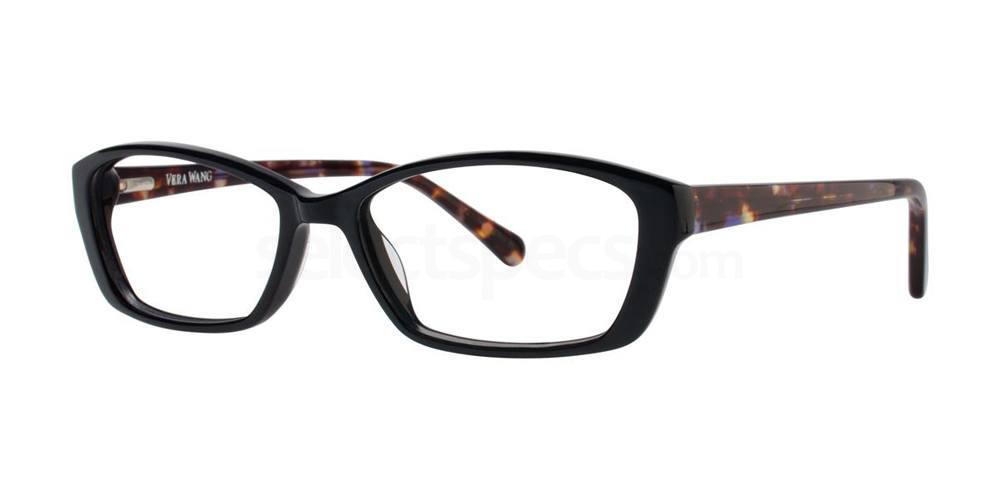 Black V366 Glasses, Vera Wang