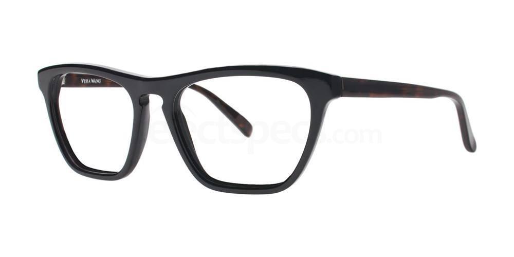 Black V368 Glasses, Vera Wang