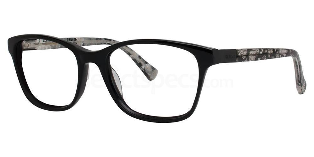 Black V372 Glasses, Vera Wang