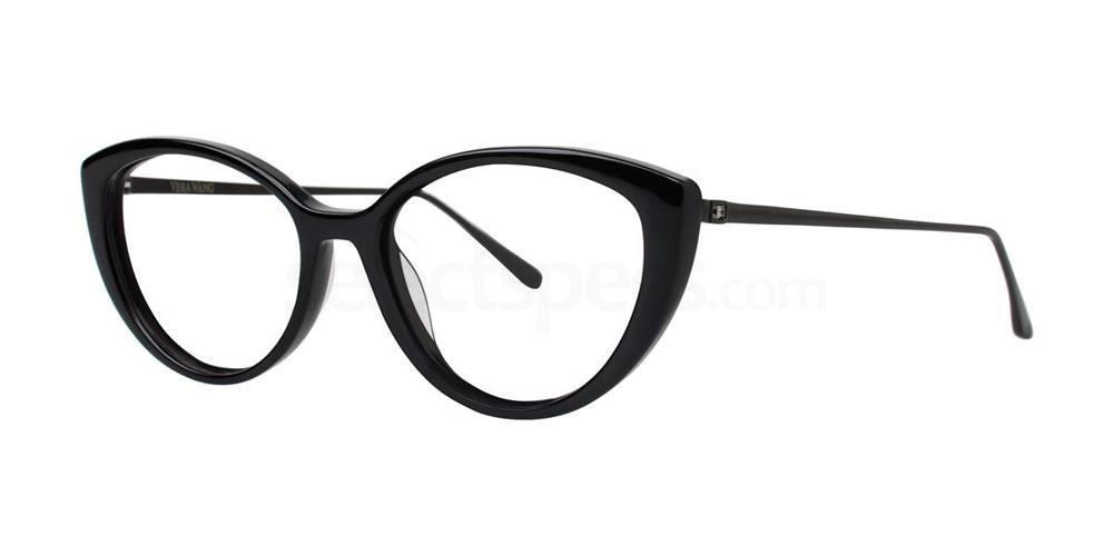 Black V373 Glasses, Vera Wang