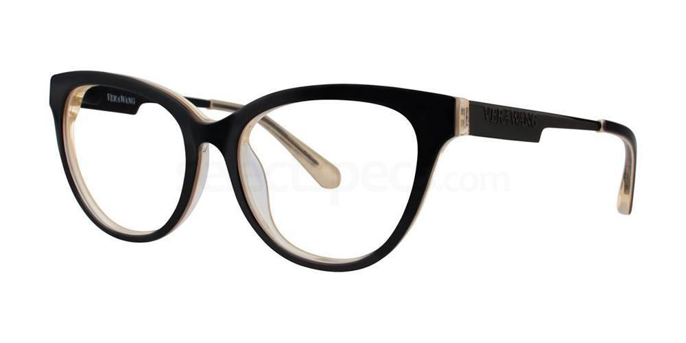 Black V375 Glasses, Vera Wang