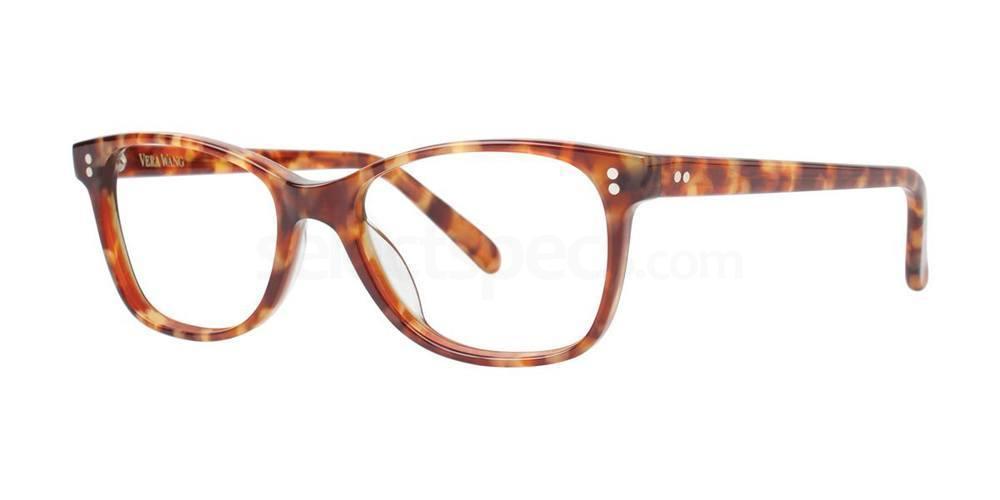 Golden Tortoise V376 Glasses, Vera Wang