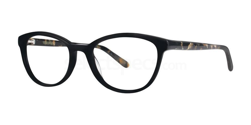 Black V379 Glasses, Vera Wang