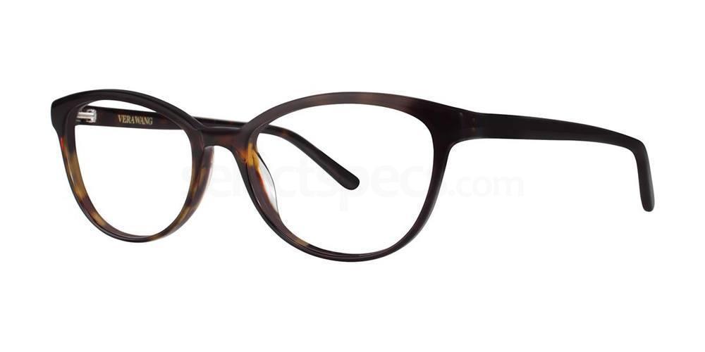 Tortoise V379 Glasses, Vera Wang