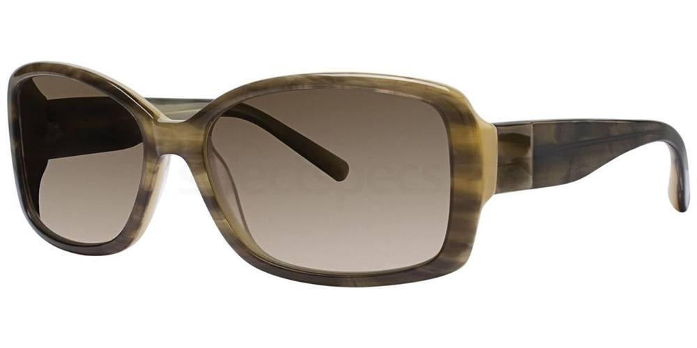 Sun Suede V244 Sunglasses, Vera Wang