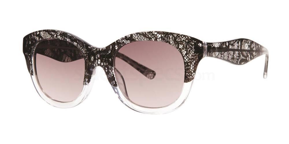 Black Lace V283 Sunglasses, Vera Wang