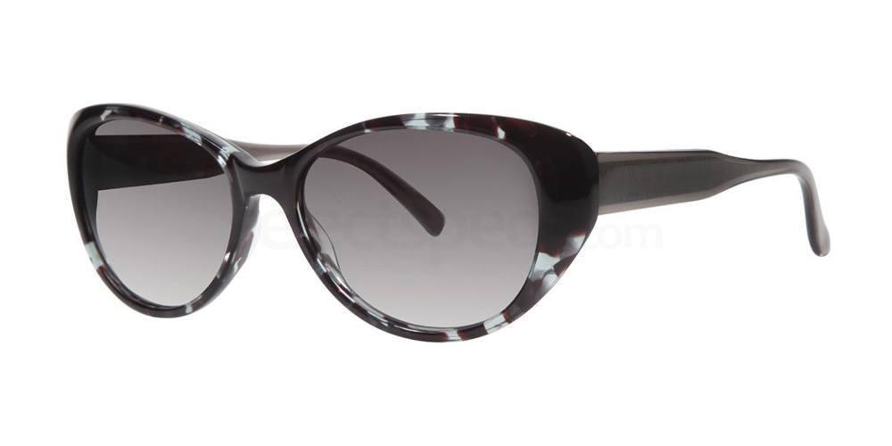 Azure Tortoise V284 Sunglasses, Vera Wang