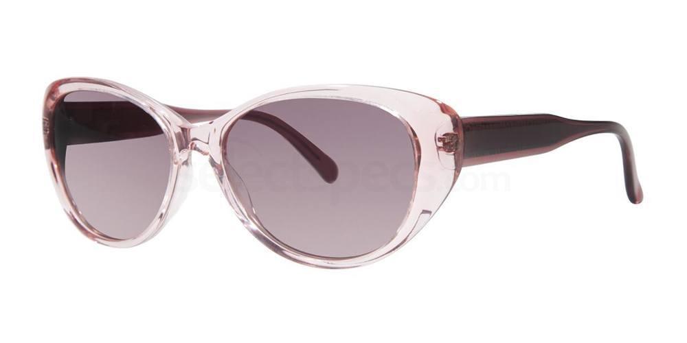 Pink Crystal V284 Sunglasses, Vera Wang