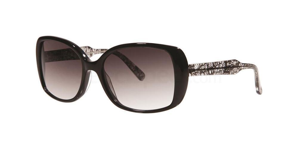 Black Lace V287 Sunglasses, Vera Wang