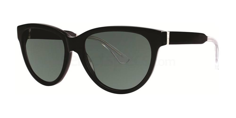 Black V288 Sunglasses, Vera Wang