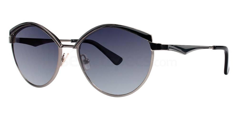 Black V297 Sunglasses, Vera Wang