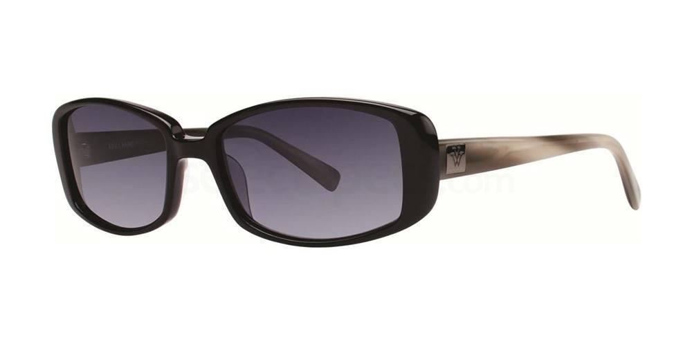Black V405 Sunglasses, Vera Wang
