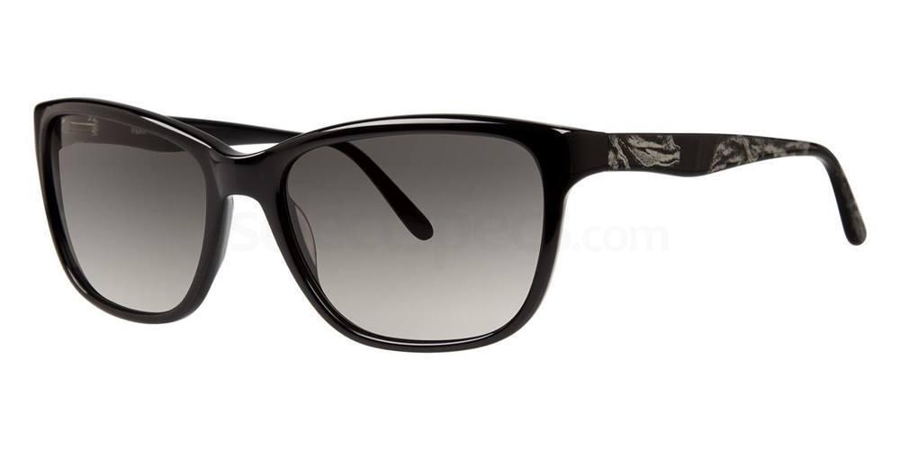 Black V415 Sunglasses, Vera Wang