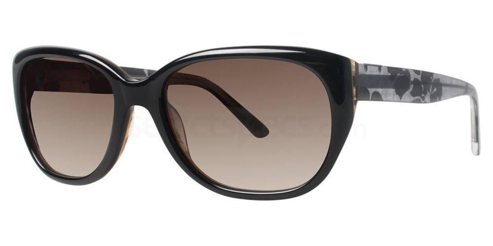 Black V418 Sunglasses, Vera Wang