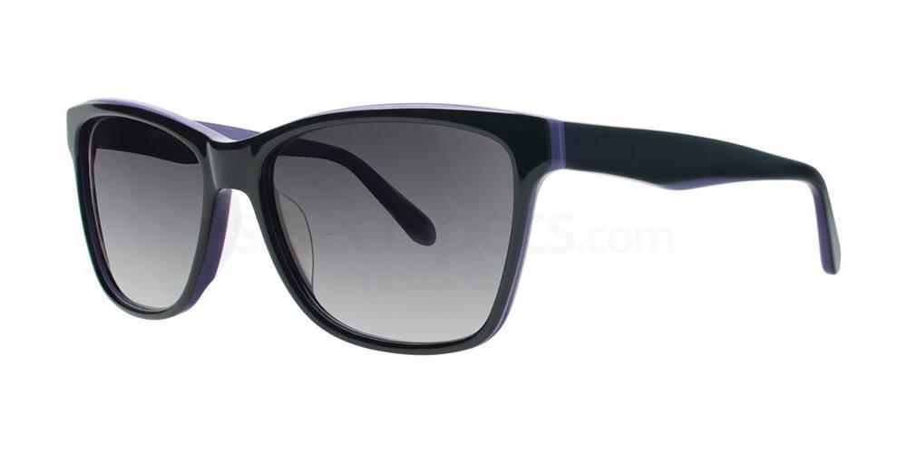 Black V419 Sunglasses, Vera Wang