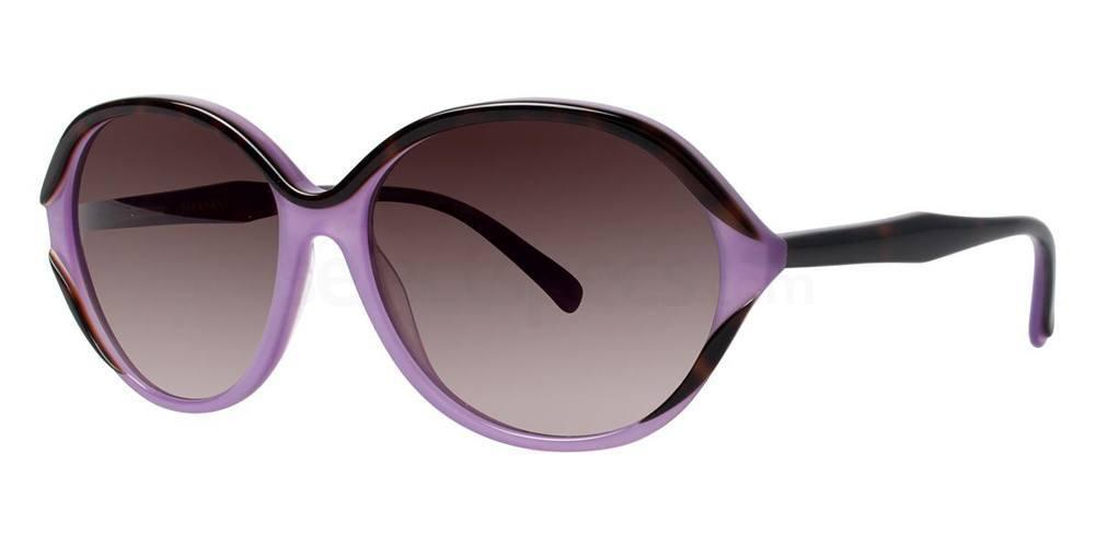 Lilac Tortoise V422 Sunglasses, Vera Wang