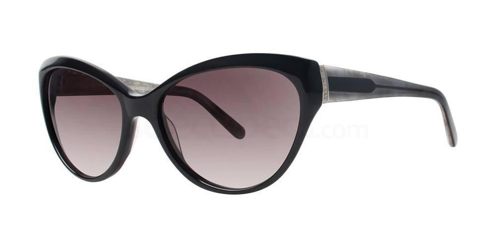 Black V425 Sunglasses, Vera Wang
