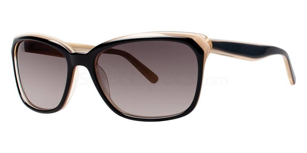 Black V427 Sunglasses, Vera Wang