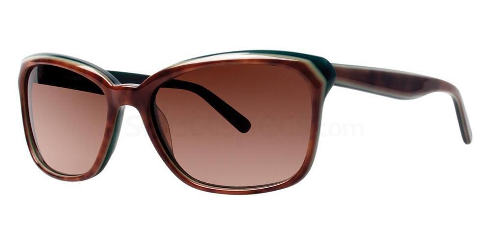 Walnut V427 Sunglasses, Vera Wang