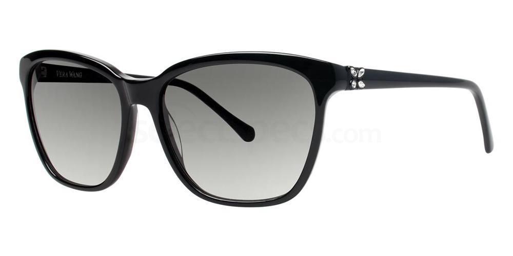 Black V429 Sunglasses, Vera Wang