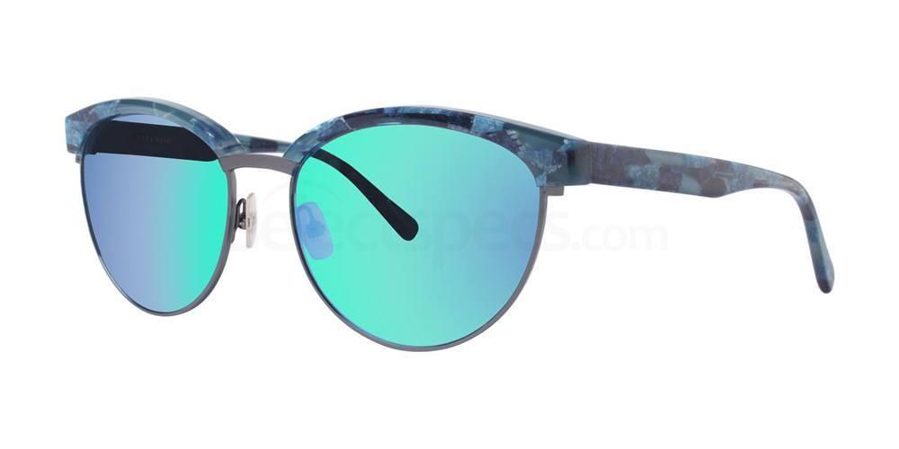 Blue Tortoise V430 Sunglasses, Vera Wang