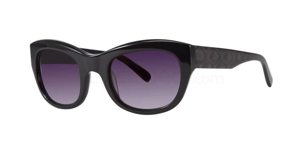 Black V432 Sunglasses, Vera Wang