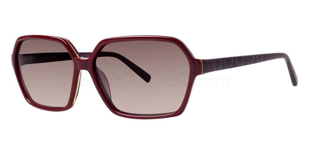 Crimson V408 Sunglasses, Vera Wang