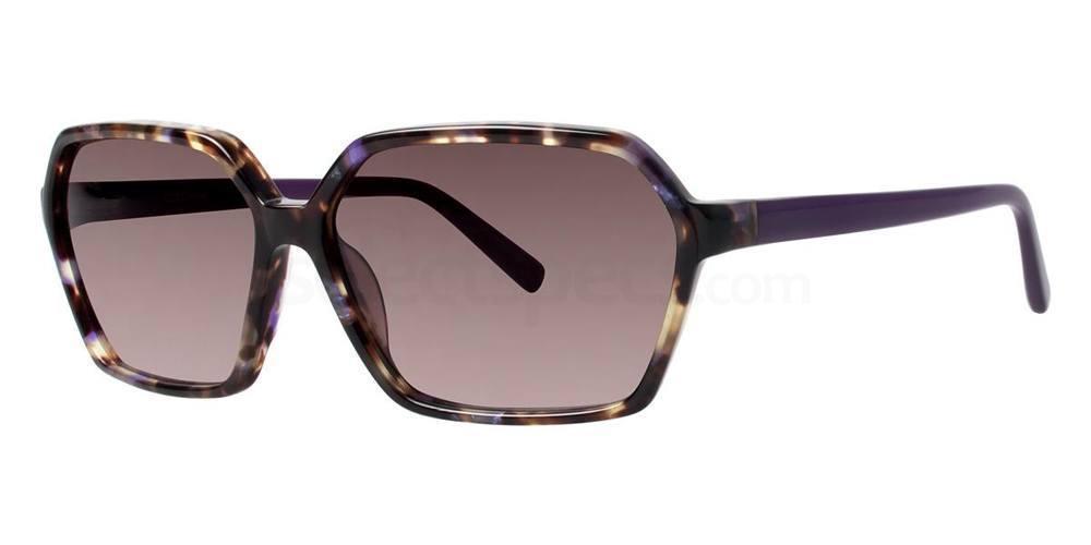 Plum Tortoise V408 Sunglasses, Vera Wang