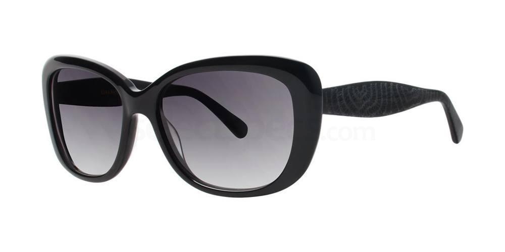 Black V412 Sunglasses, Vera Wang