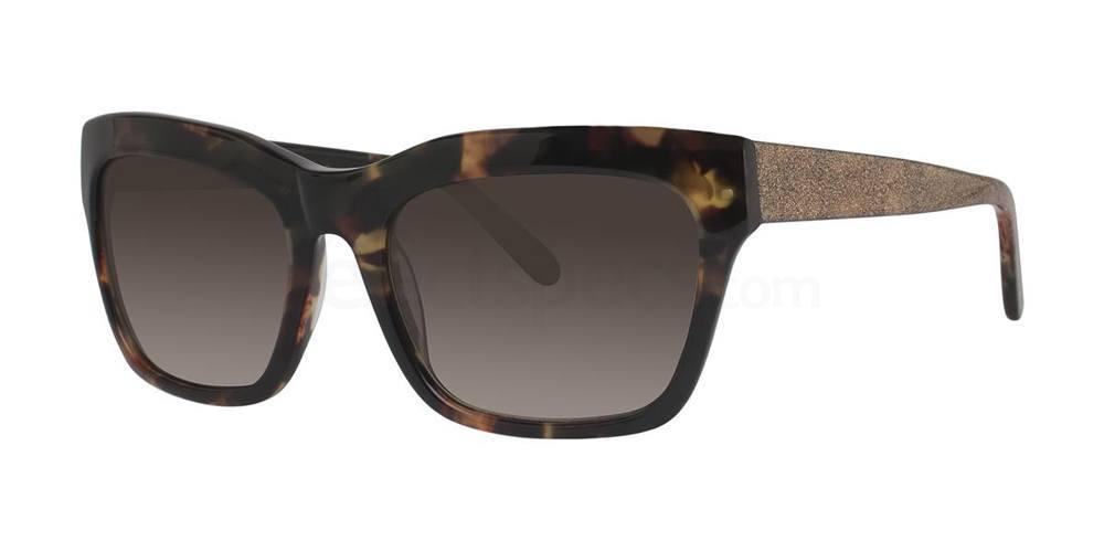 Black V453 Sunglasses, Vera Wang