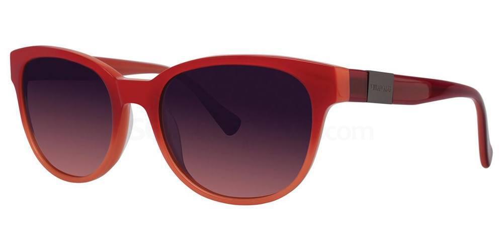 Crimson V444 Sunglasses, Vera Wang