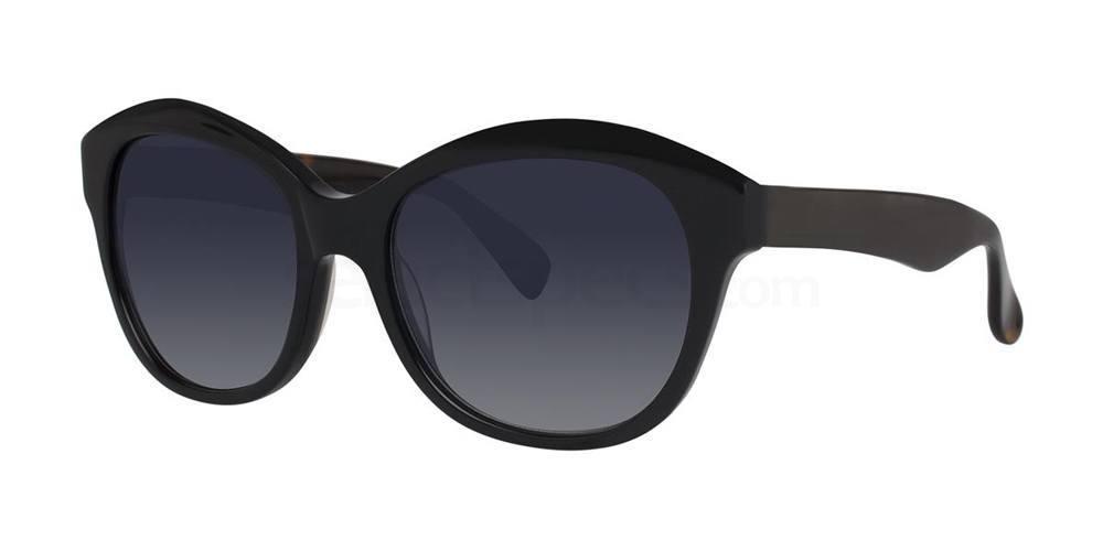 Black V451 Sunglasses, Vera Wang