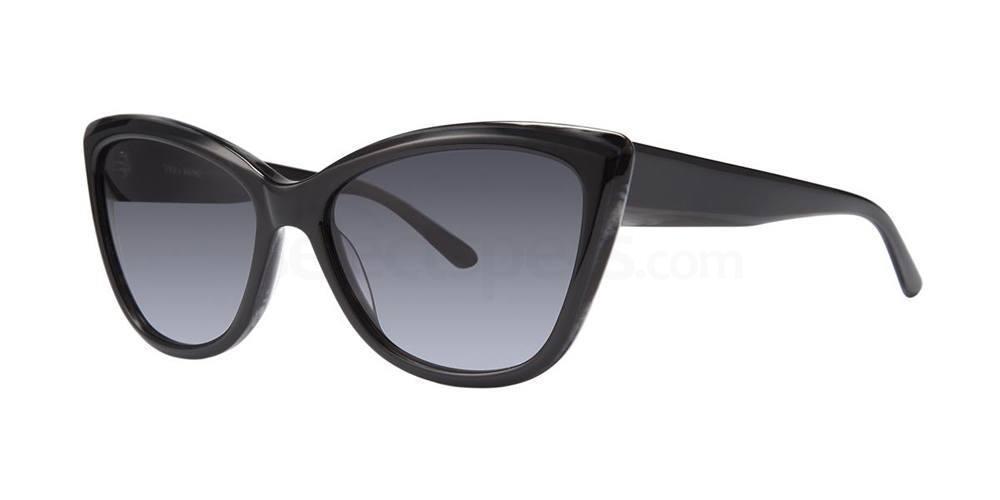 Black V433 Sunglasses, Vera Wang