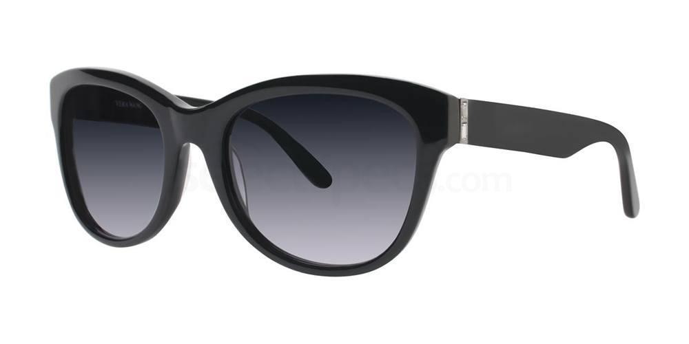 Black V434 Sunglasses, Vera Wang