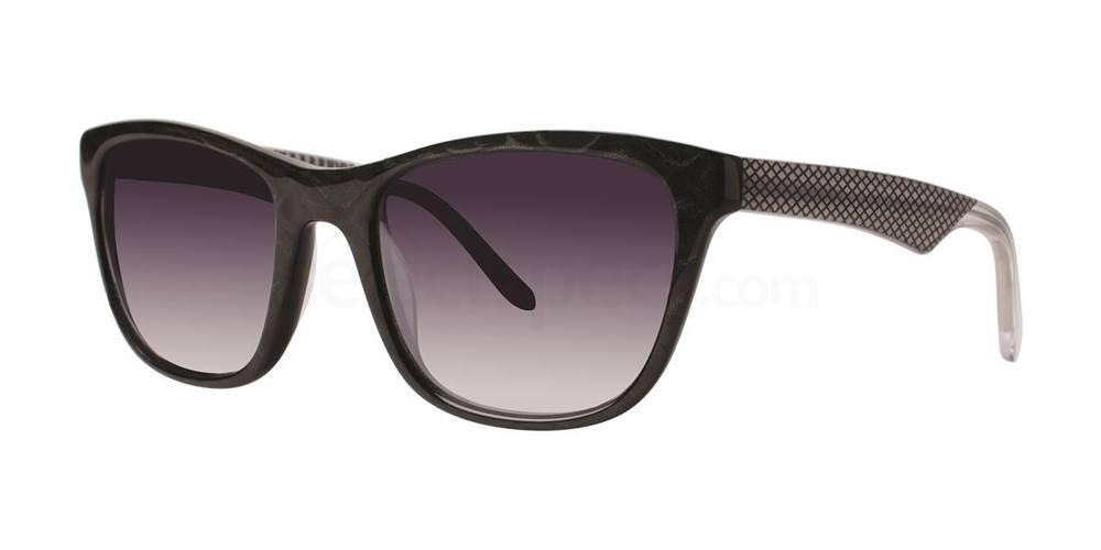 Black V438 Sunglasses, Vera Wang