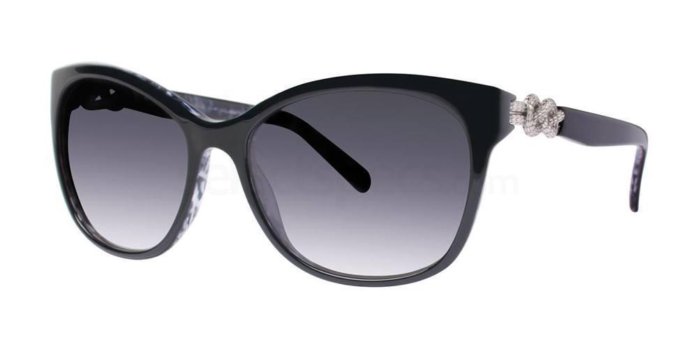 Black V439 Sunglasses, Vera Wang